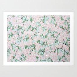 April Blooms Art Print