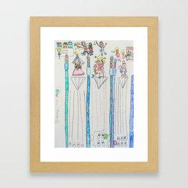 Kelly Bruneau #7 Framed Art Print