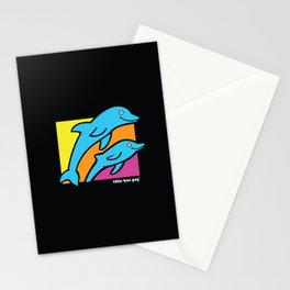 Dolphins. Stationery Cards