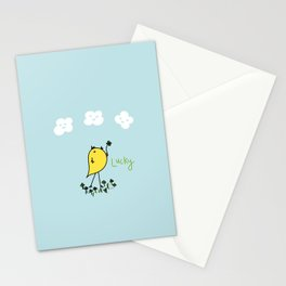 Chirp and Whistle Lucky Bird Stationery Cards