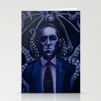 lovecraft Stationery Cards featuring Lovecraft by Mrtn Ljmn
