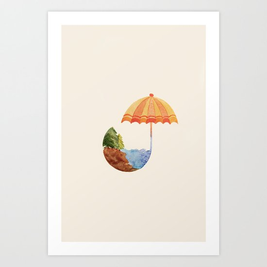 Don't Blow it. Good Planets Are Hard to Find. Art Print