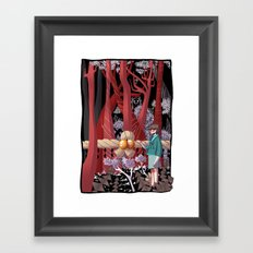 Tale of the Fiend - Shinsekai Yori Framed Art Print