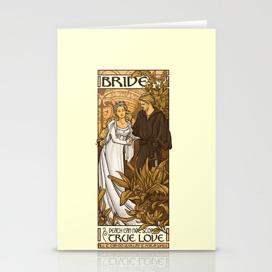 Bride Stationery Cards