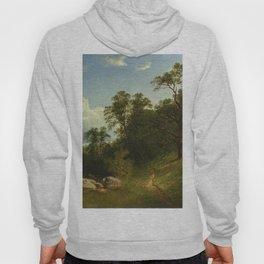Landscape 1863 By David Johnson | Reproduction | Romanticism Landscape Painter Hoody