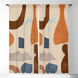 Abstract Shapes 39 Blackout Curtain