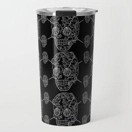 Skull Web Travel Mug