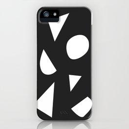 Boom on Black iPhone Case