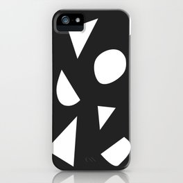 Boom on Black iPhone Case