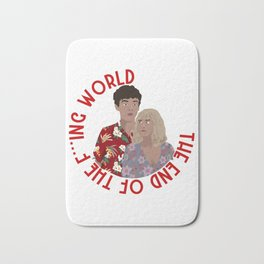 The ENd Of The F***ing World Bath Mat