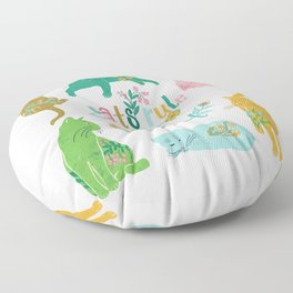 Cats Rule The World Floor Pillow
