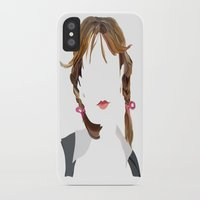 britney spears iPhone & iPod Cases featuring Britney by Bethany Mallick