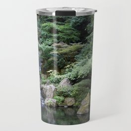 Japanese Garden Calmness Travel Mug