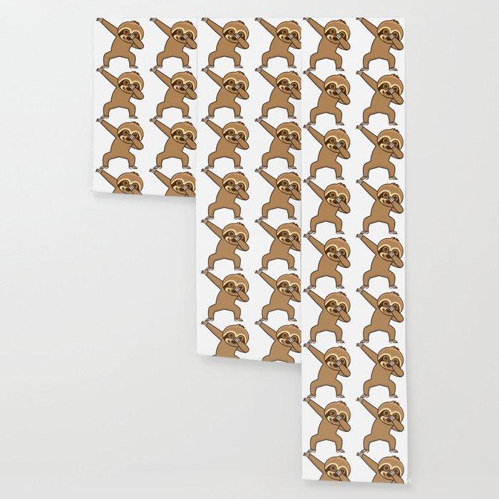 Sloth dab Wallpaper