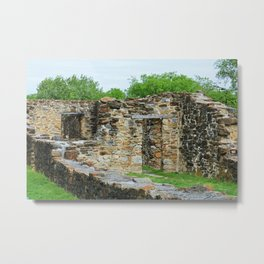 At the Mission I Metal Print