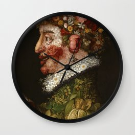Giuseppe Arcimboldo - Spring Wall Clock