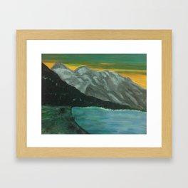 Above All Things Framed Art Print