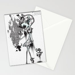 mystery of love Stationery Cards