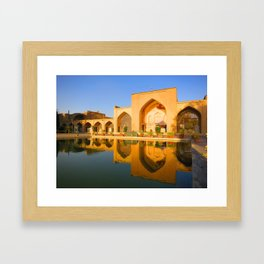Arch Reflection Framed Art Print