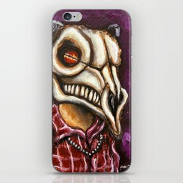 Goat Skull Dude iPhone Skin
