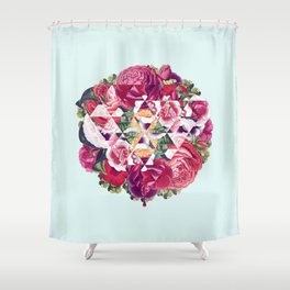 Flowers for Murders Shower Curtain
