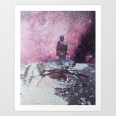 collage 16 Art Print