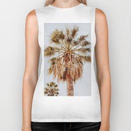 a palm tree xviii Biker Tank
