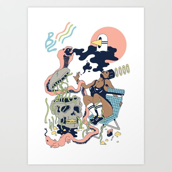 Pure Heat Art Print