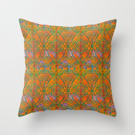 Moroccan Elements #2 Throw Pillow