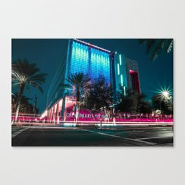 Colorful Nights Canvas Print