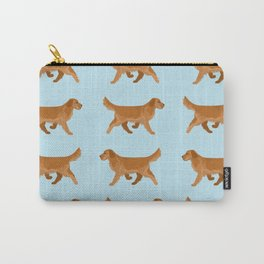 Golden Retriever Love Carry-All Pouch