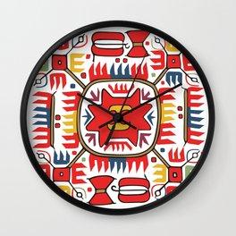 Shevica ~+~1 Wall Clock