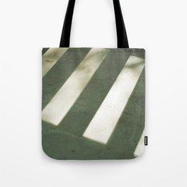porch, shadows. Tote Bag