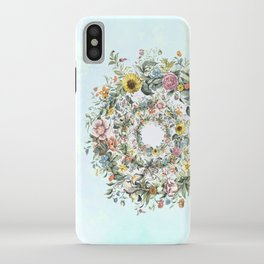 Circle of Life in  Blue iPhone Case