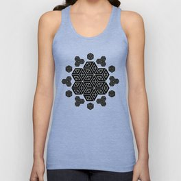"""CUBEhive"" by Brock Springstead Unisex Tank Top"