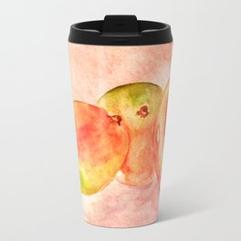 Mango Watercolor Travel Mug