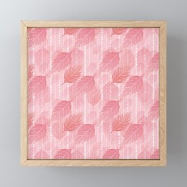 Boho Blush and Beads - Pink Framed Mini Art Print