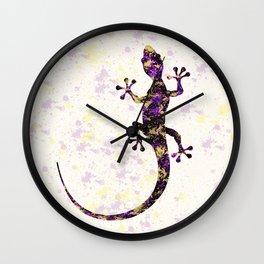 Abstract Lizard Wall Clock
