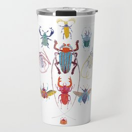 Stitches: Bugs Travel Mug