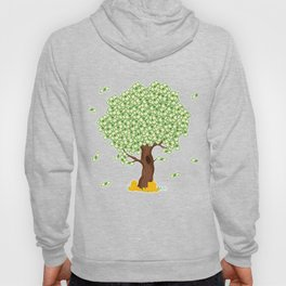 """Cute and inspiring best for luck """"Money Growing"""" tee design. Makes an awesome gift to your friends!  Hoody"""