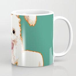 SCARY MONSTER EASTER BUNNY Coffee Mug