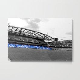 Chelsea Stamford Bridge West Stand Metal Print