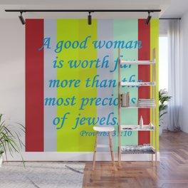 A Good Woman Wall Mural