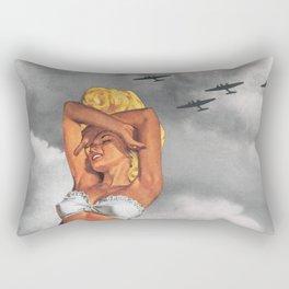 War L'Amour Rectangular Pillow