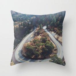 Rowena Crest Throw Pillow