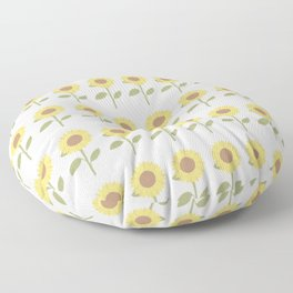 Face to the Sunshine Floor Pillow