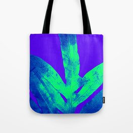 Blue Ultraviolet Green Earth Day Fern Tote Bag