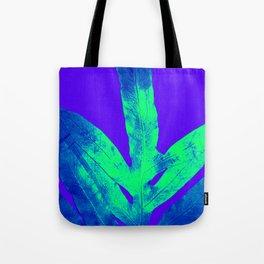 Blue Ultraviolet Green Earth Day Fern Tote Bag