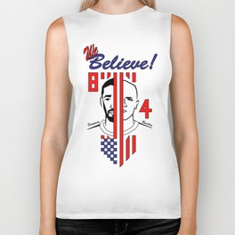 we believe!! Biker Tank
