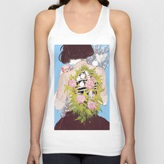 Strawberry Milk Unisex Tank Top